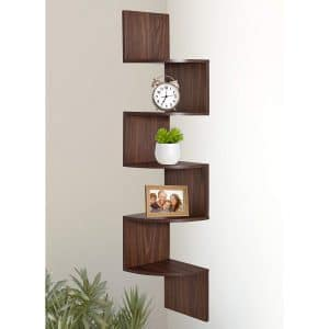 Greenco 5-tier Corner Shelf