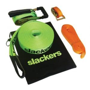 Slackers 50-Ft Slackline Kit