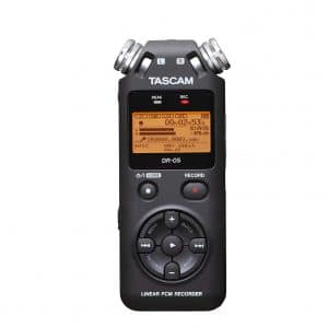 Tascam DR-05 Stereo Digital Portable Audio Recorder