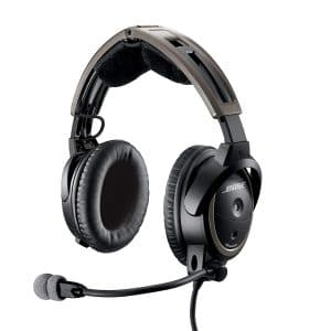 Bose A20 Pilot Headset with Bluetooth Connectivity, Black