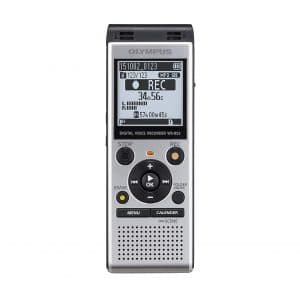 Olympus Digital WS-852 Voice Recorder, Silver