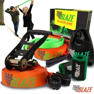 Trailblaze-Complete Slackline Kit with Training-Line