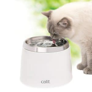 Catit Fresh and Clear Stainless Steel Drinking Fountain