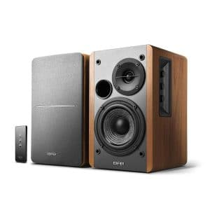 Edifier R1280T Bookshelf Speakers - Wooden Enclosure
