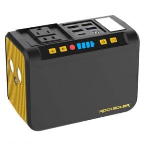 ROCKSOLAR Portable Power Station 74Wh 80W Battery