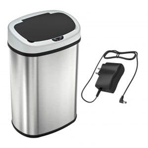 SensorCan OSC13SBSAC Battery-FREE Automatic Sensor Trash Can