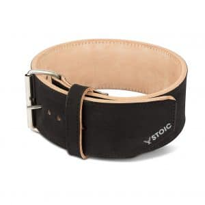 Stoic Powerlifting Belt - 4 Inches Wide