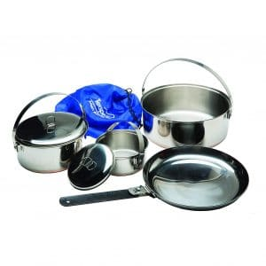 Texsport 6-piece Camping Cookware