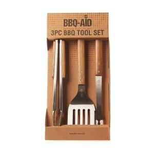 BBQ-Aid 3 Piece Grill Set BBQ Accessories