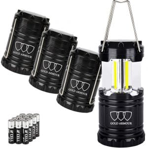 Gold Armour LED Camping Lantern