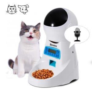 Homdox Automatic Pet Cat Dog Feeder