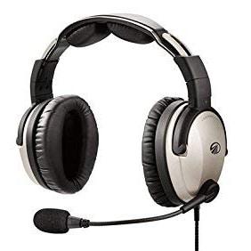 Lightspeed Zulu 3 Pilot Headset - GA Plugs
