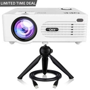 QKK Mini Projector (2019 Upgrade)