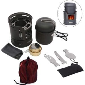 Trekking Fuel cook stove set