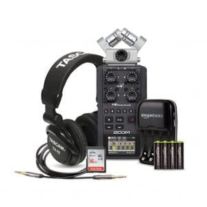 Zoom H6 Portable Six-Track Recorder Deluxe bundle