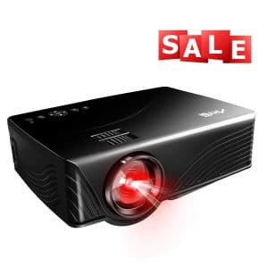 Artlii Portable Home Theater Projector