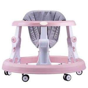 Creproly Folding Adjustable Height Baby Walker