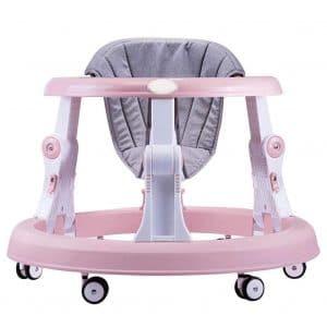 Creproly Folding Adjustable Height Baby Walker