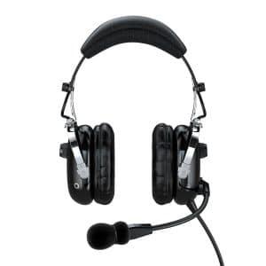 Faro G2 ANR Premium Pilot Headset with an Mp3 Input – Black