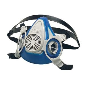 MSA Half Mask Respirator with Single Neck Strap