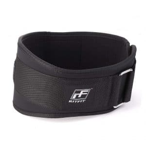 RitFit Weight Lifting Belt for Men and Women with Back Protection