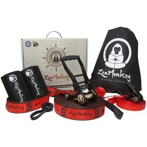ZenMonkey Slackline Kit