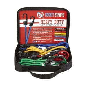 24 18 10 ABN Heavy Duty Bungee Cord Assortment /& Canopy Ties 24 Pack 32 /& 40-Inch Straps