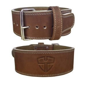 Steel Sweat Weight Lifting Belt - Vegetable Tanned Leather