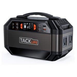 TACKLIFE 299Wh Portable Power Station Ready Battery Generator