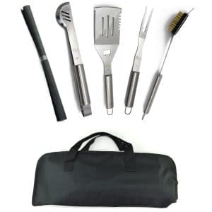 ValdoHome New Stainless Steel BBQ Grill Tools Set