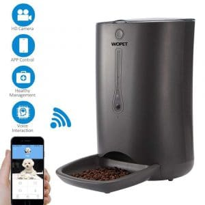 WOpet Smart pet Feeder, Automatic Cat and Dog Feeder