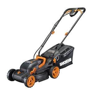 "Worx WG779 Cordless 14"" Lawn Mower"