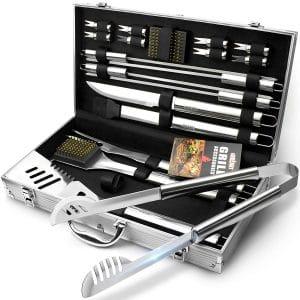 GRILLART BBQ Grill Utensil Tools Set