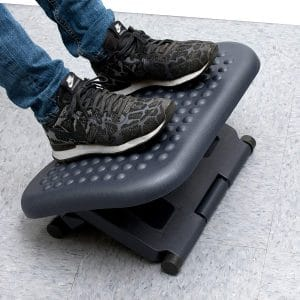 Mind Reader Adjustable Height Footrest