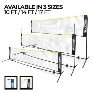 Boulder Portable Badminton Net - for Indoor and Outdoor Court
