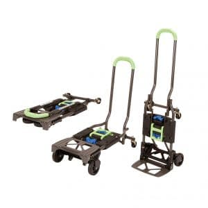 Cosco Shifter 300-Pound Folding Hand Truck, Green
