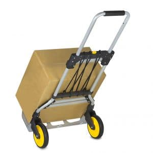 Mount-It! Folding Hand Truck, 264 lbs Weight Capacity