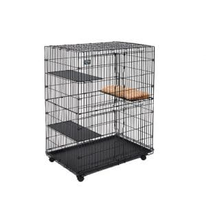 Midwest Cat Playpen 3 Adjustable 1-2 Cats Cat Cage