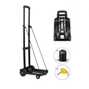 ROYI Folding Hand Truck with Solid Construction
