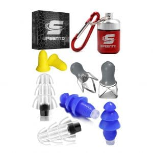 4 Pair High Fidelity Reusable Earplugs