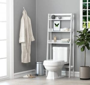 UTEX 3-Shelf Bathroom Organizer Over the Toilet Storage
