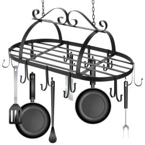Ferty Kitchen Ceiling Mounted Pots Rack