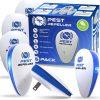 3. Jorge Ultrasonic Pest Repeller 6 Pack