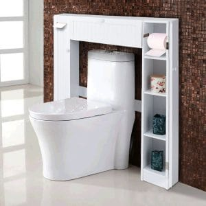 Giantex Over the Toilet Storage Freestanding Shelf