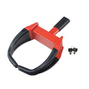 OKLEAD Heavy-Duty Wheel Clamp Lock