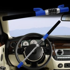 LC Prime Steering Wheel Lock Universal Password Corded