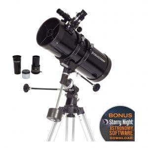 10. Celestron PowerSeeker Reflector Telescope