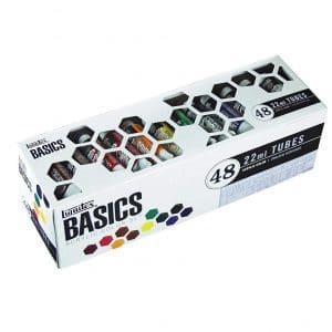 Liquitex Basics 48 Tube Acrylic Paint Set