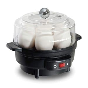 4. Hamilton Beach Egg Cooker and Poacher