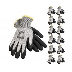 JORESTECH Palm Dipped Cut Resistance Gloves